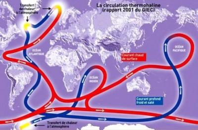 Antarctique : un courant océanique ralentit à chaque seconde